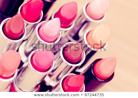 Lip gloss. Shallow depth of field. Stock photo © moses