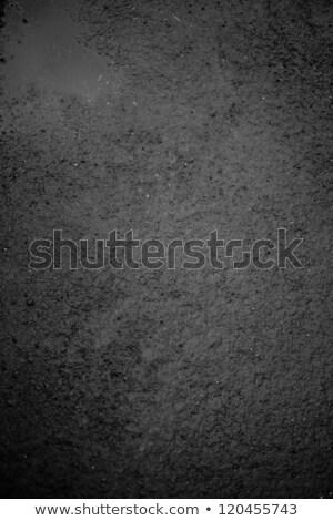 темно черный влажный скользкий конкретные Сток-фото © stockyimages