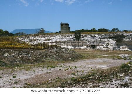 Robben Island Lime Quarry Stock photo © bradleyvdw