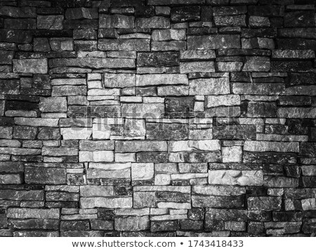 Dirty white grout wall texture abstract background. Stock photo © latent