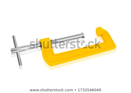 3d render of a clamp or vice Stock photo © Krisdog