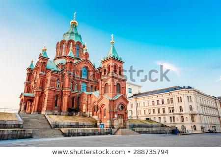 Uspenski Cathedral, Helsinki, Finland Stock photo © tainasohlman