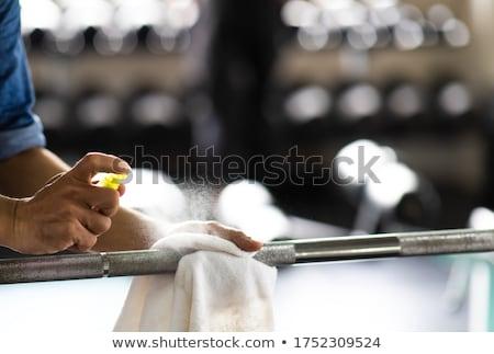 sağlık · kulüp · kadın · aerobik · mutlu - stok fotoğraf © diego_cervo