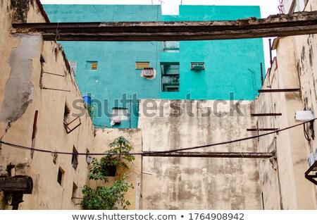 Cuba arquitectura La Habana diciembre edad Foto stock © weltreisendertj
