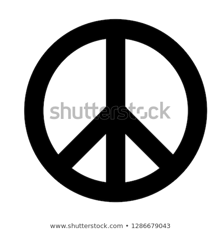 peace symbol seventies Stock photo © burakowski