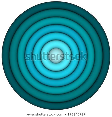 Rendu 3d concentrique tuyaux multiple bleu résumé Photo stock © Melvin07