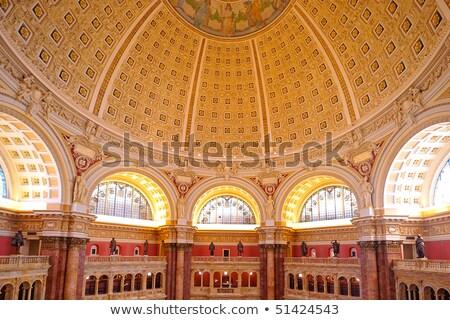 ストックフォト: ライブラリ · 議会 · メイン · ホール · ワシントンDC · 米国