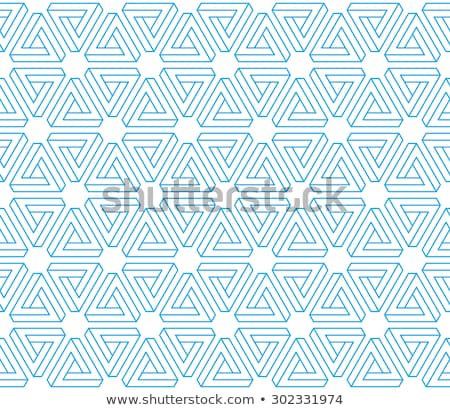 Background with Penrose triangles Stock photo © shawlinmohd