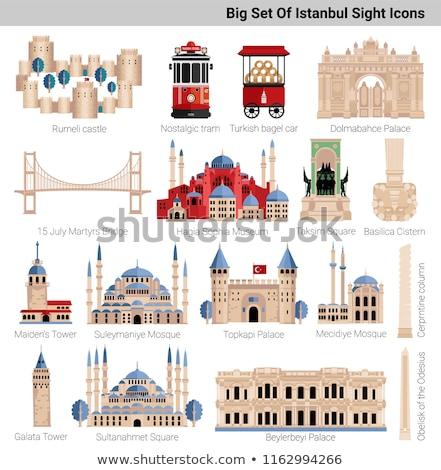 Hagia Sophia, the monument most famous of Istanbul - Turkey Stock photo © bloodua