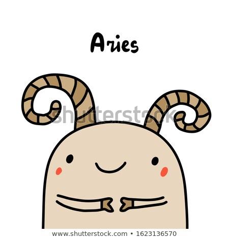 Cartoon Aries Man Stock photo © blamb