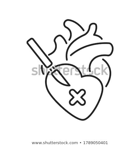 cirurgião · bisturi · masculino · cirurgiões - foto stock © oleksandro