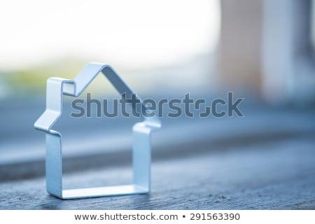 ストックフォト: 銀 · メタリック · 家 · 実例 · 建物 · ホーム