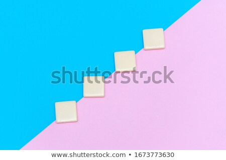 goal settings on multicolor puzzle stock photo © tashatuvango