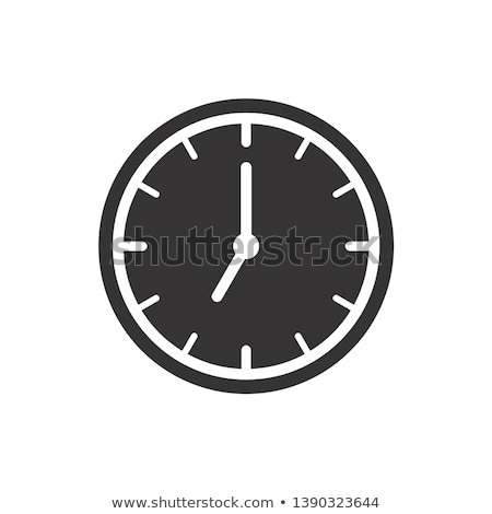 Clock dial icon - vector illustration Stock photo © Mr_Vector