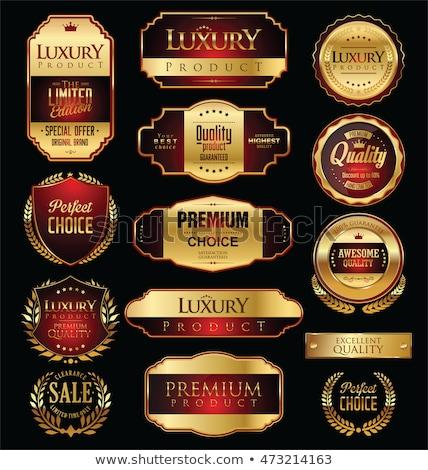 set of vector guarantee labels  Stock photo © vadimone