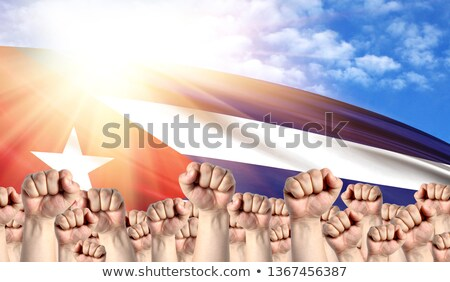 Cuba Labour movement, workers union strike Stock photo © stevanovicigor