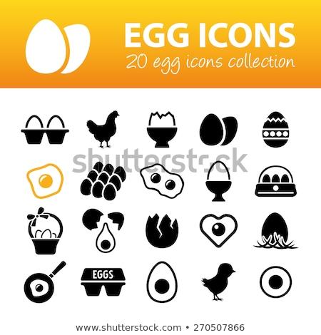 壊れた 卵 眼 電気 中性 グレー ストックフォト © gewoldi