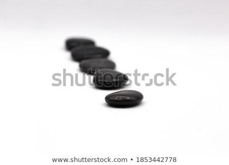 Stok fotoğraf: Stones In Row