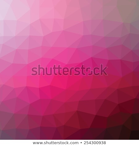 colorful bordo abstract geometric low poly style vector illustration graphic background stock photo © mcherevan
