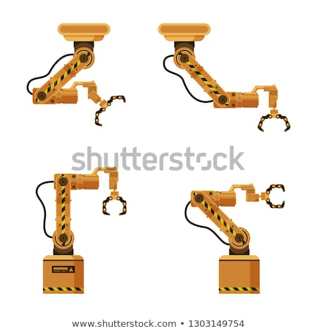 Automatic Brown  Opened Claws Stock photo © tashatuvango