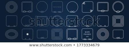 Mariene knoop houten exemplaar ruimte papier nota Stockfoto © neirfy