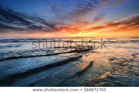 Sunrise piantagione punto spettacolare ardente fine Foto d'archivio © lovleah