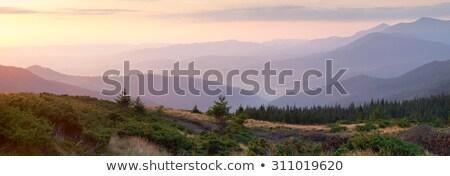Панорама горные один минута время Сток-фото © Taiga