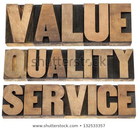 legjobb · jelmondat · magasnyomás · klasszikus · fából · készült - stock fotó © zerbor