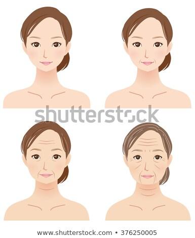 額 肖像 見える ストックフォト © roboriginal