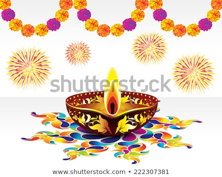 abstract colorful artistic diwali explode stock photo © pathakdesigner
