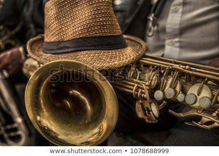 Mulher belo mulher jovem jogar brinquedo música Foto stock © piedmontphoto