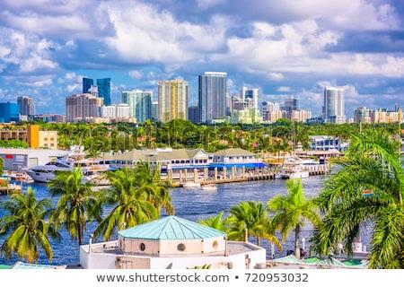 skyline of Fort Lauderdale Stock photo © meinzahn