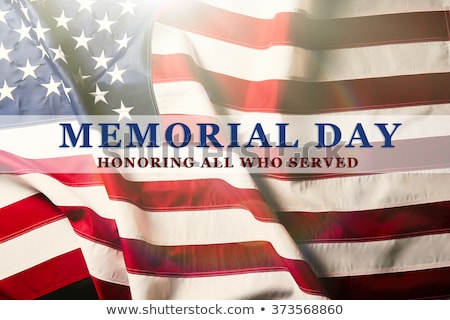memorial day celebration stock photo © lightsource