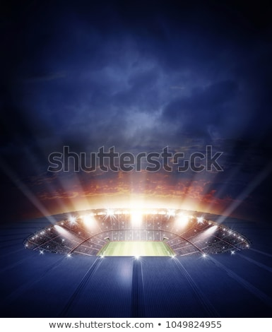 fans of football teams 3d rendering stock photo © alphaspirit