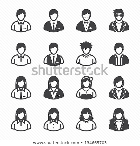man lawyer with an icon on a white background Stock photo © mizar_21984