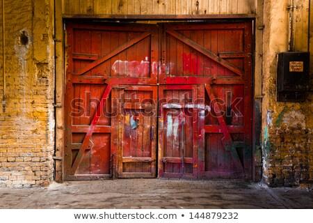 старые · ржавые · цинк · железной · текстуры · стены - Сток-фото © stevanovicigor