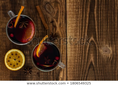 Two wine glasses Stock photo © pakete