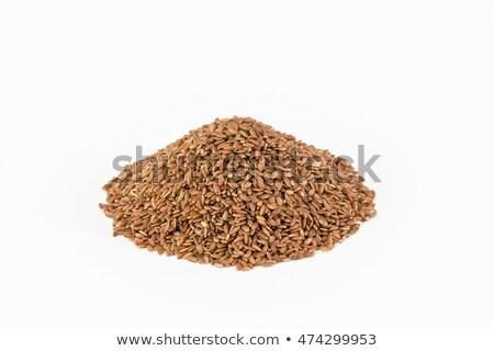 Riz blanche alimentaire rouge semences Photo stock © vinodpillai