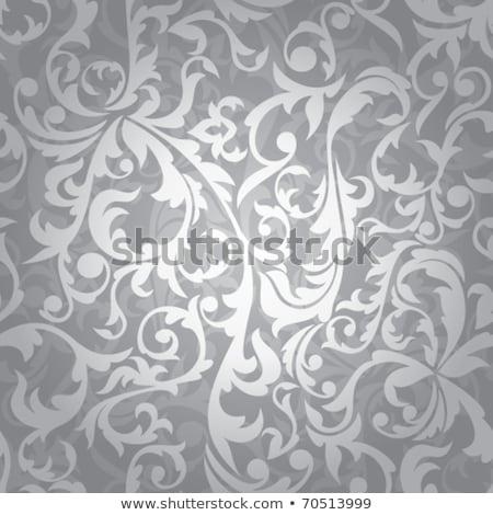 niebieski · streszczenie · kontur · linie · kolorowy · dekoracyjny - zdjęcia stock © blackmoon979