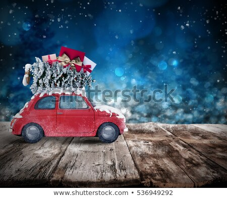 xmas holiday travel 3d rendering stock photo © alphaspirit
