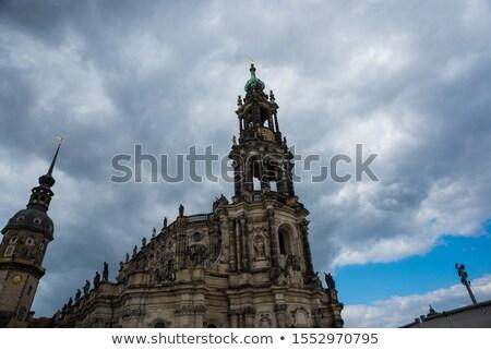 Дрезден · Германия · небе · город · Церкви · путешествия - Сток-фото © vladacanon