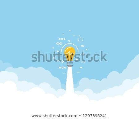 ötlet áttörés erő akadály kreatív gondolkodás innovatív Stock fotó © Lightsource