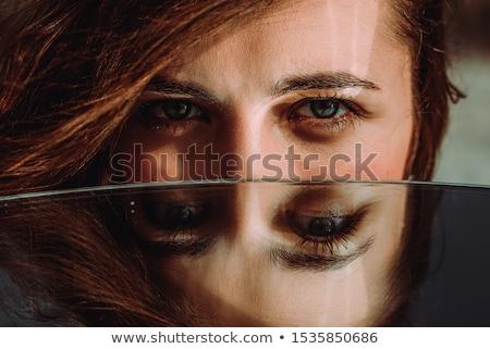 赤 白 タグ ゴム アイコン ストックフォト © chrisdorney