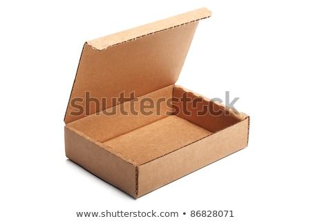 白 包装 孤立した 3次元の図 ビジネス ストックフォト © cherezoff