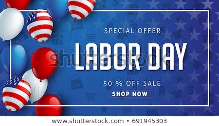 Labor day sale background  Stock photo © reftel