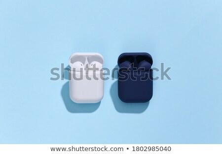 Bluetooth sem fio conexão interface elementos cinza Foto stock © sahua