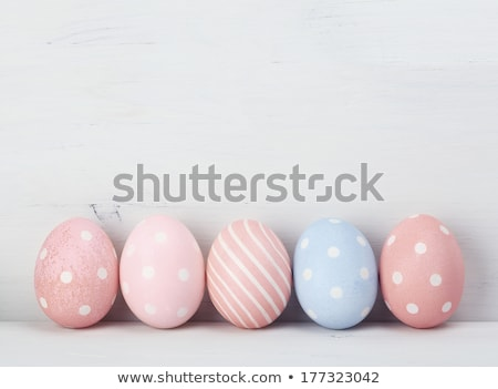 Pastel Easter Eggs Stock photo © klsbear