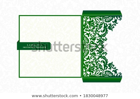 christmas greeting green card pocket stock photo © romvo