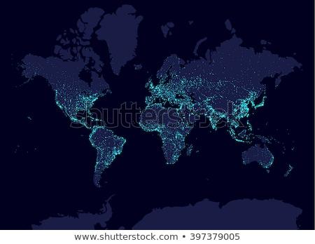 Мир · торговли · карта · Мир · карта · аннотация · полет - Сток-фото © krisdog