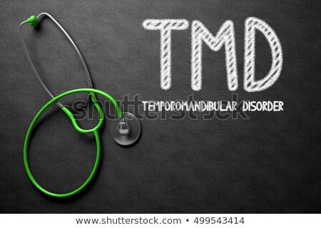 TMD on Chalkboard. 3D Illustration. Stock photo © tashatuvango